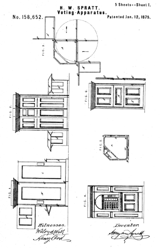 early voting patent