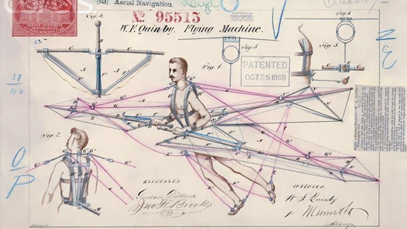 patented flying machine