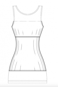 Design patent drawing back view