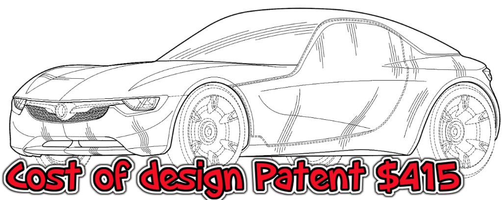 Design patent cost