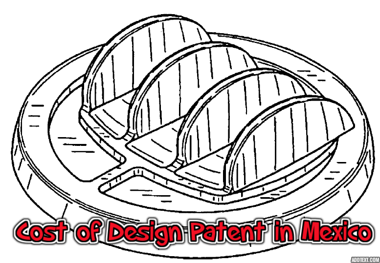 cost of Design Patent in Mexico