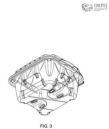 Design patent example Mexico