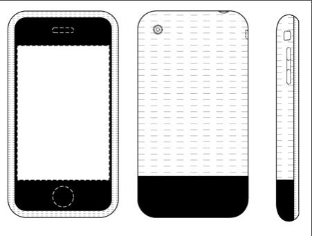 iphone patent drawings