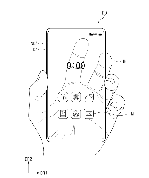 samsung transparent phone