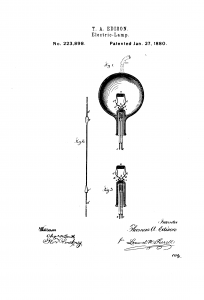 light bulb patent