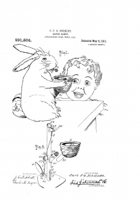 mechanical easter bunny