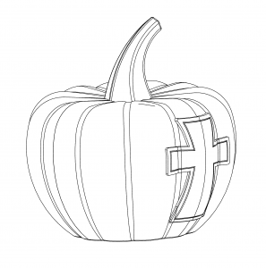 pumpkin shaped easter egg
